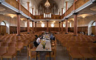 «Werktags in der Kirche St. Peter» – Serie in 7 Folgen, Folge 1