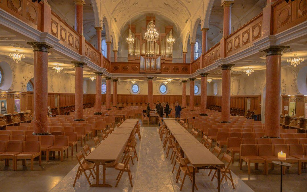 «Werktags in der Kirche St. Peter» – Serie in 7 Folgen, Folge 2